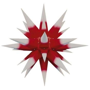 herrnhuter weihnachtsstern rot m wei en spitzen 60cm taff geschenkewelt ausgefallene. Black Bedroom Furniture Sets. Home Design Ideas