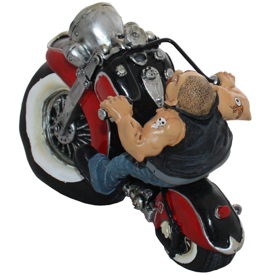 spardose biker sparb chse als motorradfahrer taff. Black Bedroom Furniture Sets. Home Design Ideas
