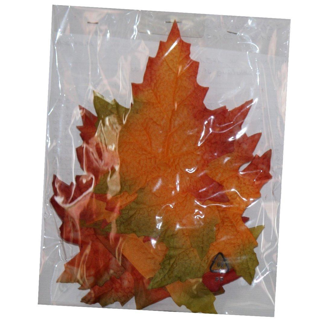 Deko  Blätter Herbst, Streublätter, 12er Sortierung