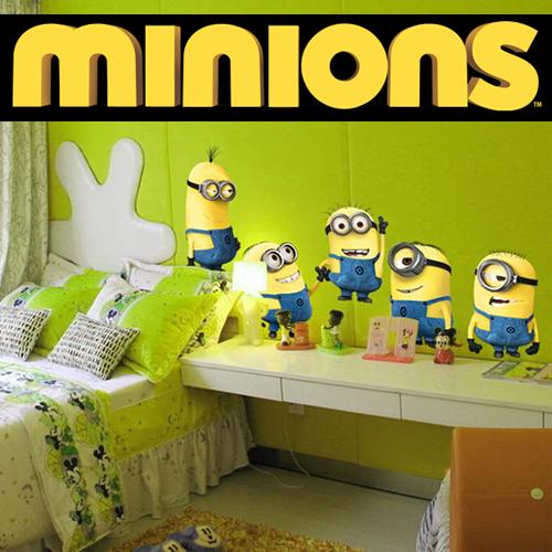 Minions wandsticker tapetenbilder tolle aufkleber i love minions - Minions wandtattoo ...
